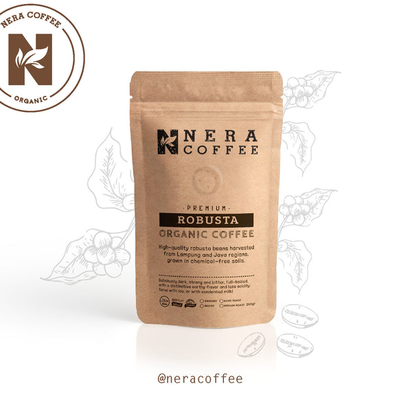 Nera Coffee Local Organic Ground (tersedia 6 pilihan)