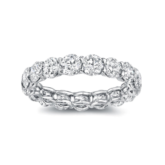 U-Shape Eternity Band - Marc & Mizrahi 14k Stackable Rings and Jewelry in Beverly Hills