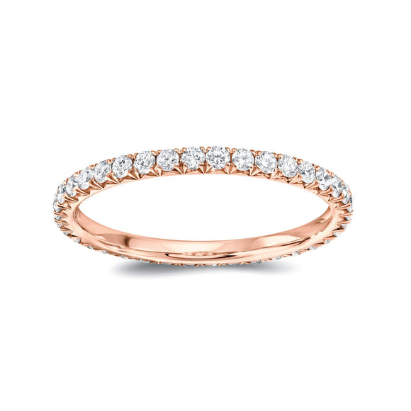 Round Diamond Eternity Band -  Large - Marc & Mizrahi 14k Stackable Rings and Jewelry in Beverly Hills