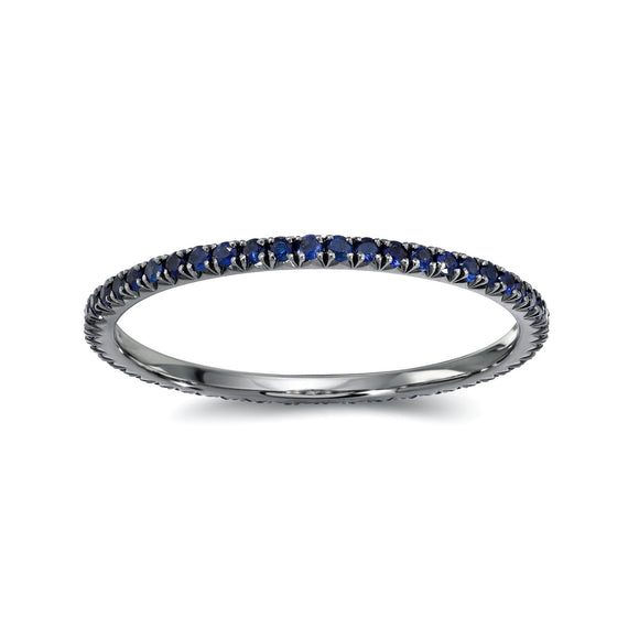 Blue Sapphires Eternity  Band - Marc & Mizrahi 14k Stackable Rings and Jewelry in Beverly Hills