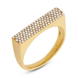 Paloma Diamond Ring - Marc & Mizrahi 14k Stackable Rings and Jewelry in Beverly Hills