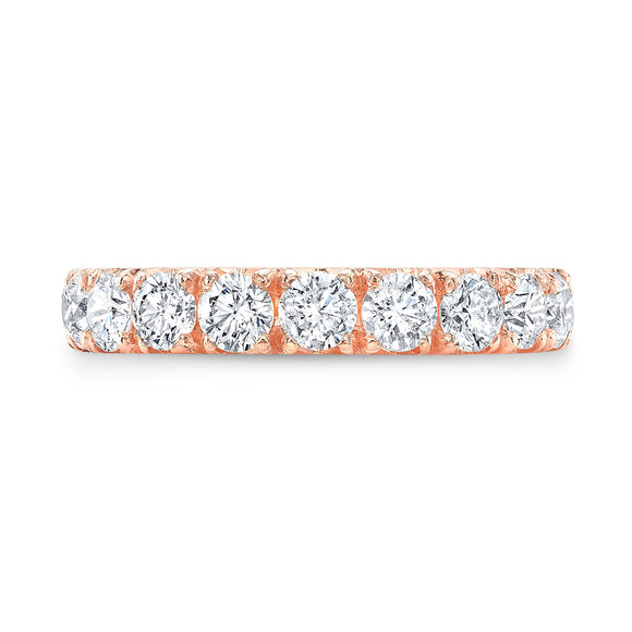 Rose Gold Eternity Band - Marc & Mizrahi 14k Stackable Rings and Jewelry in Beverly Hills