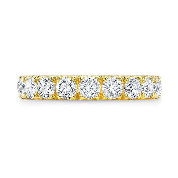 Yellow Gold Eternity Band - Marc & Mizrahi 14k Stackable Rings and Jewelry in Beverly Hills