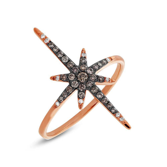 North Star Ring - Marc & Mizrahi 14k Stackable Rings and Jewelry in Beverly Hills