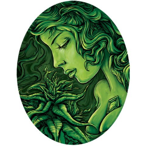 Emerald Goddess - Sticker
