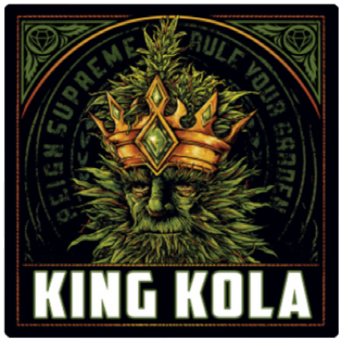 King Kola Label - Sticker