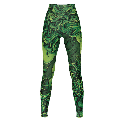 Emerald Goddess - Leggings