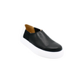black with white Slip-On Sneaker