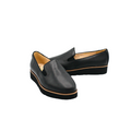 Women's Leather Slip-On Shoes with Arch support