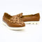 Flower Leather Shoes with Slip-On Design - 1936 Boutique Style 7001-15