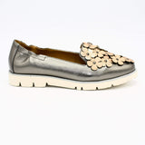 1936 Boutique Flats 36 / Pewter Leather 1936 Boutique Style 7001-15