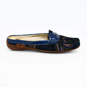 1936 Boutique Mules 36 / Blue 1936 Boutique Style 1639-29