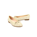 beige color Women's Brunella Flat Shoes with Bow