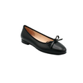 Women's Brunella Flat Shoes in black leather