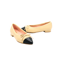 Leather Pointed Toe Flat with Bow Style 19363-11