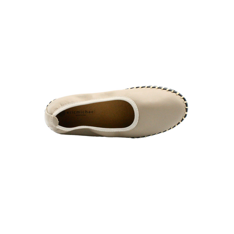 women's stylish flat shoes in gray color