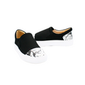 Leather Slip-On Shoes for women