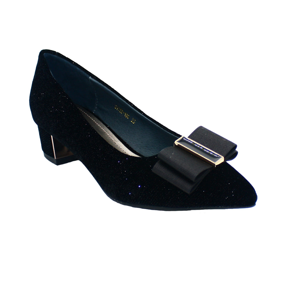 Emma Pointy Toe Pump Velvet