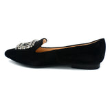 pointed toe flats for women's with buckle