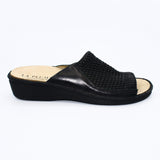 La Plume Mules 36 / Black La PLume Stretch