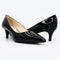 Black Patent Leather Pumps 2 Inch Heels
