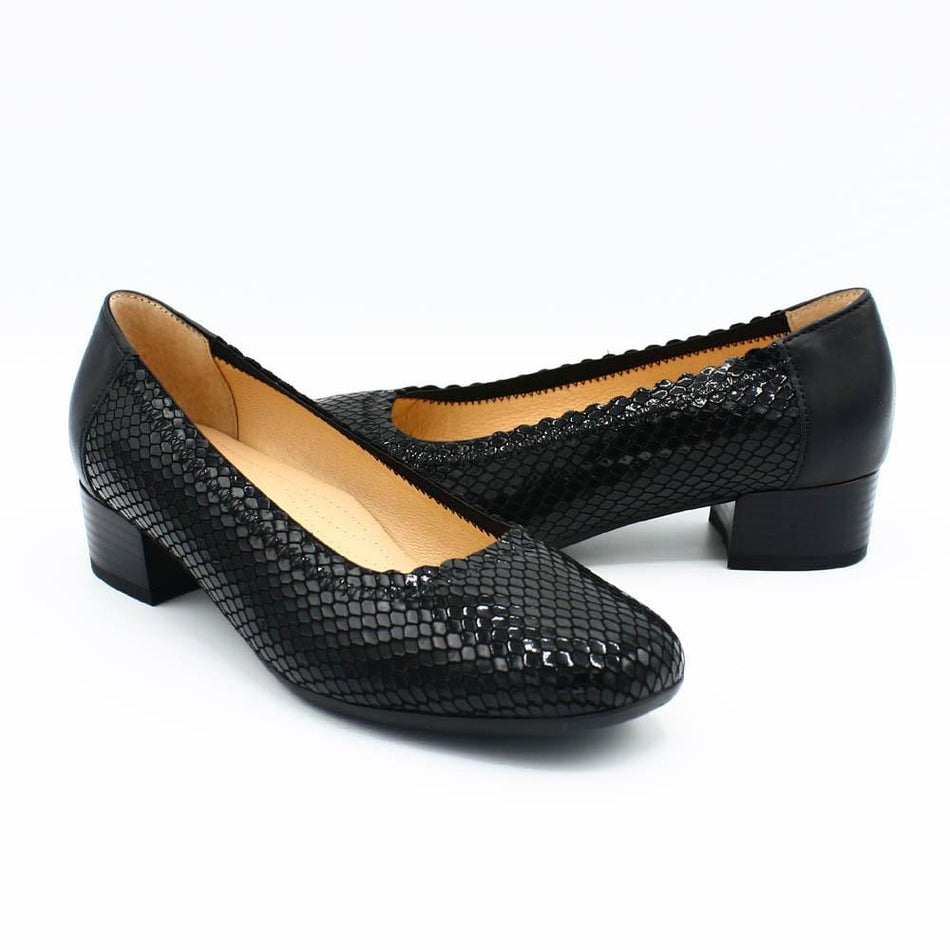 Spring Step Pumps Spring Step Bettina black leather pump