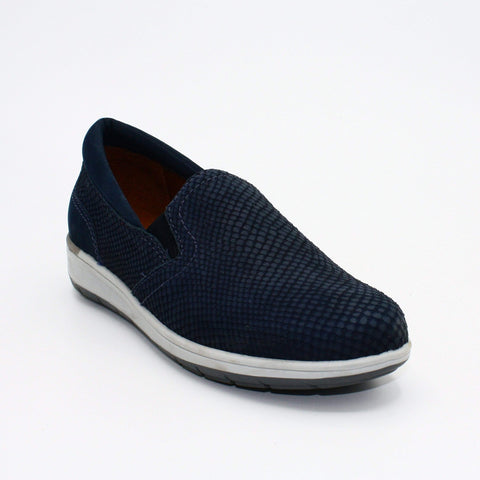 walking cradles orleans sneaker navy
