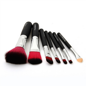 Makeup Brush (Set of 7) With Cute Storage Box