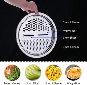 Panda™ 3 in 1 Stainless Steel Grater