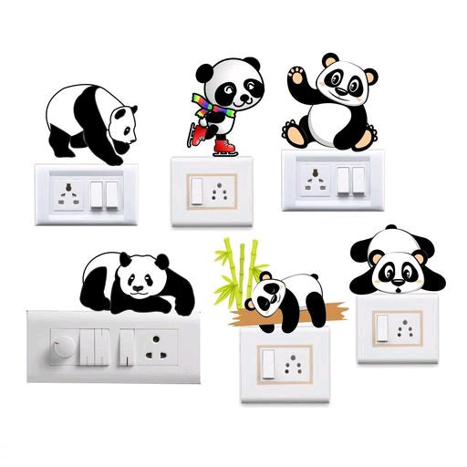 Panda™ Switch Board Stickers