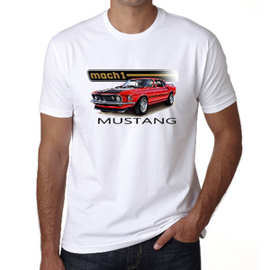 Tee-Shirt Ford Mustang Mach 1