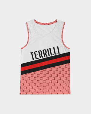 Terrilli T Designer Red Men's Sports Tank