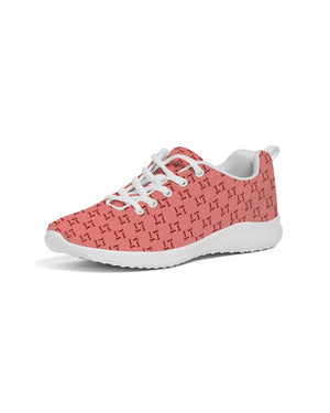 Men's T Print Athletic Shoe (Peach)