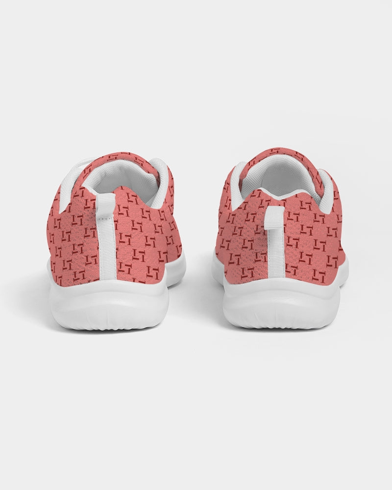 Women's T Print Athletic Shoe (Peach)