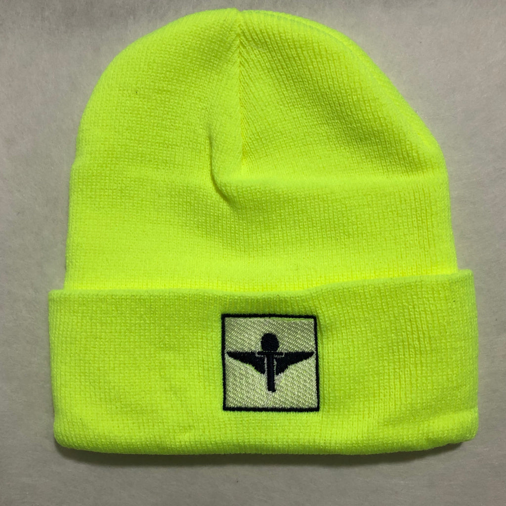 Lime/Navy Skully