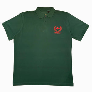 Classic Brougham Polo (Green/Red) XL