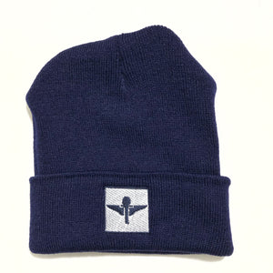 Navy /White Skully