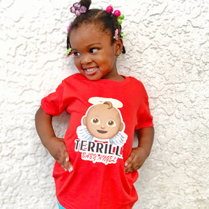 Terrilli Baby Angel T Shirt (Red)