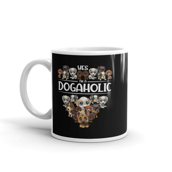Yes I'M A Dogaholic Coffee Mug