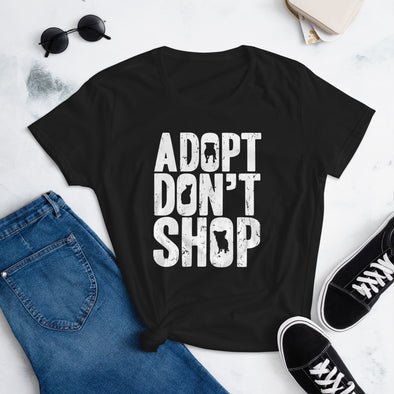 Adopt Don't Shop - Dog Adoption T-Shirt