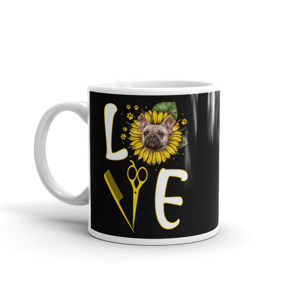 Love Dog Groomer Coffee Mug