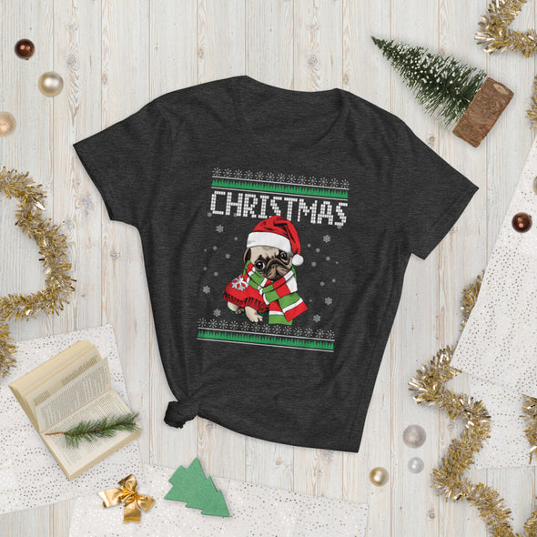 Christmas Shirt for Pug Lovers
