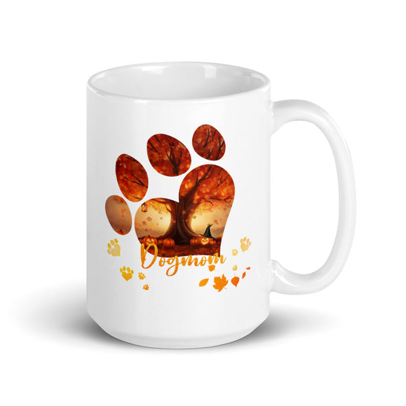 Halloween Dog Mom Coffee Mug