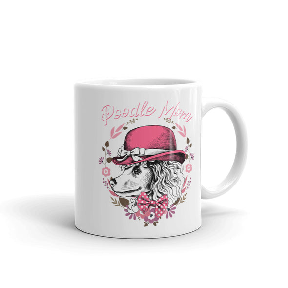 Poodle Mom Dog Coffee Mug