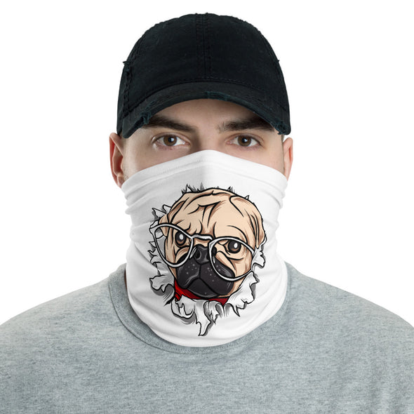 Pug Face Mask & Neck Gaiter