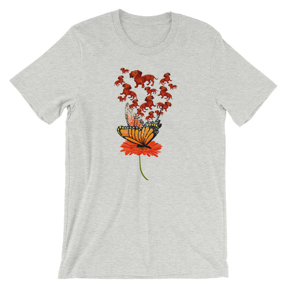 Flower Dog Unisex T-Shirt