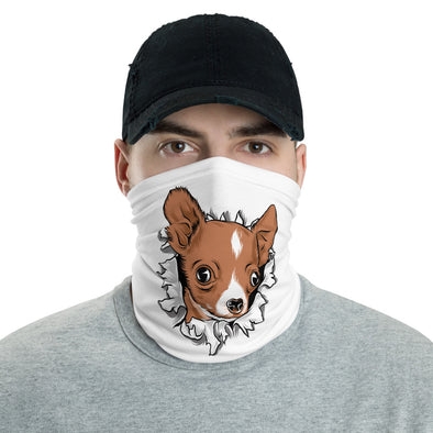 Chihuahua Face Mask & Neck Gaiter