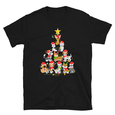 Dog Christmas Tree Unisex T-Shirt