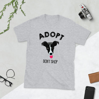 Adopt Don't Shop Unisex Shirt