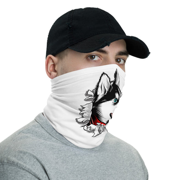 Husky Face Mask & Neck Gaiter
